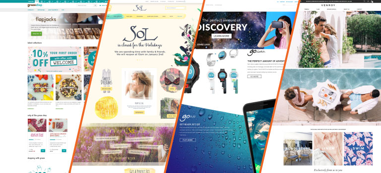 Magento 2 Website Examples from Around the World