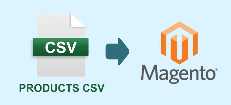 הוראות יבוא מוצרים למג'נטו 1 – CSV