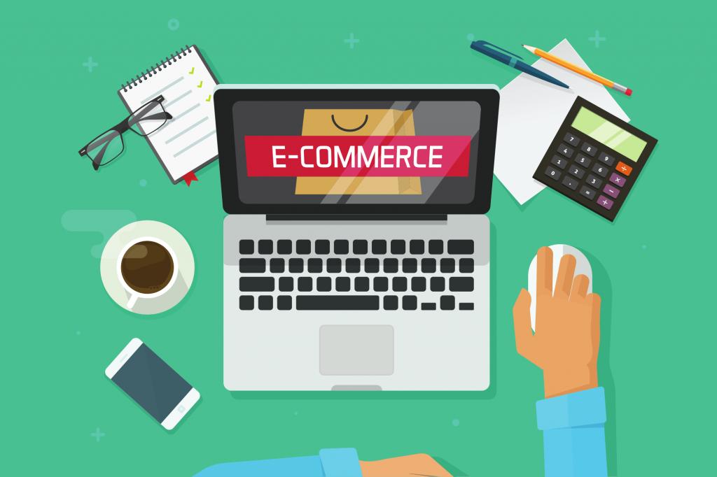 חנות מקוונת מסחר אלקטרוני